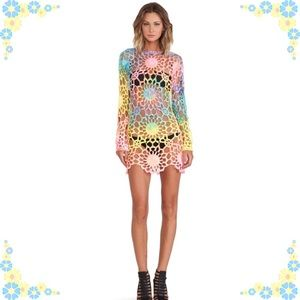 UNIF Tie Die Astra Dress